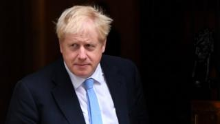 Primeiro-ministro Boris Johnson