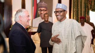 Tillerson da Buhari