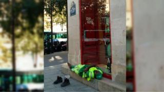 "Adama Cissé assoupi lors de ""sa pause"""