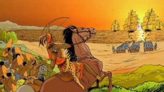 40ఏళ్ల పాటు ఆమె పోర్చుగీస్ సైన్యాన్ని ఎదిరించింది.