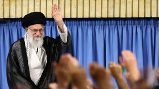 آیت الله خامنهای، رهبر ایران