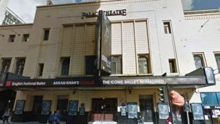 Palace Theatre in Manchester