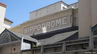 The Brighton Hippodrome exterior