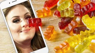 Adele and Gummy Bears