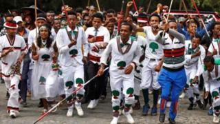 Waandamanaji wa kabila la Oroma wamekuwa wakitaka haki zaidi kisiasa na kiuchumi
