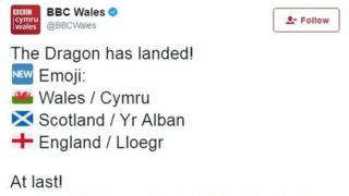 BBC Wales tweet