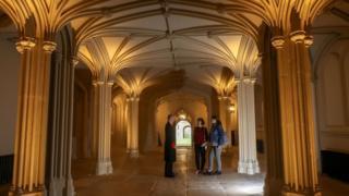 Inner Hall at Windsor Castle