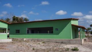 Fábrica de tiquira da cooperativa Cooptaf Guaribas