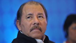 Daniel Ortega, presidente de Nicaragua.