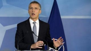 NATO Secretary General Jens Stoltennburg