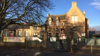 Corstorphine Primary School Pic: John Easton