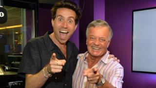 Nick Grimshaw and Tony Blackburn