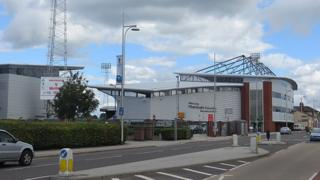 The Racecourse Ground in Wrexham