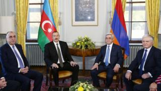 Azərbaycan və Ermənistan prezidentləri, XiN-ləri