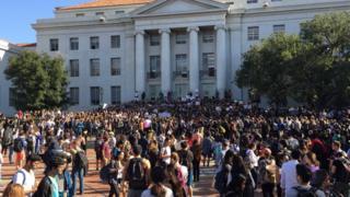Đại học Berkeley sáng ngày 9/11