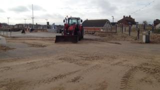 Sand in Sutton on Sea