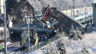 Аварія потягу