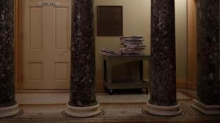 Интерьер Сената США