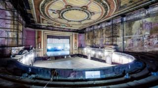 The secret theatre in Alexander Palace