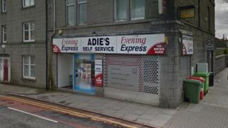 Adie's Self Service on Bedford Road, Aberdeen