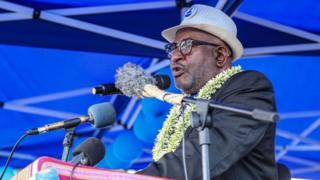 Azali Assoumani, le président sortant, est candidat à sa propre succession.