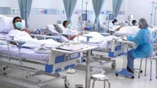 चियांग राय अस्पताल में भर्ती बच्चे