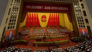 ที่ประชุมสภาฯจีน