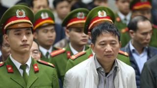Ông Trịnh Xuân Thanh nghe tuyên án tại TAND TP Hà Nội hôm 22/1