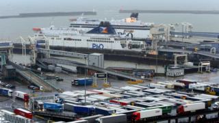 Dover limanı