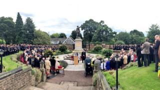 Rededication ceremony