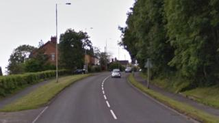 A53 Leek Road in Endon, Stoke-on-Trent