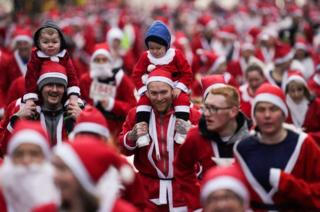 in_pictures Santas