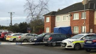 The man died outside a house in Ramsgate Village, Gorey