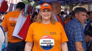 María Esther Roa es la cara visible de los Ciudadanos Autoconvocados