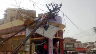 Індія після піщаного шторму