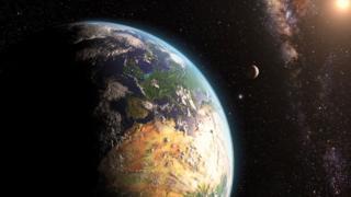 terra, estrelas e sol