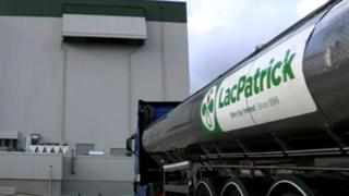 LacPatrick container lorry