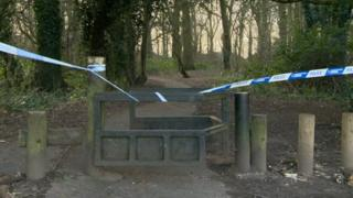 Police cordon off part of Hobs Meadow