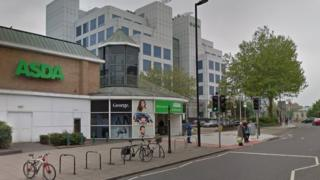 Asda supermarket in Portland Terrace, Southampton city centre