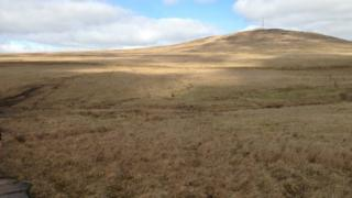 The emergency services received a Facebook message from the women on Divis Mountain