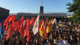 Митинг оппозиции в Петербурге 24 июля