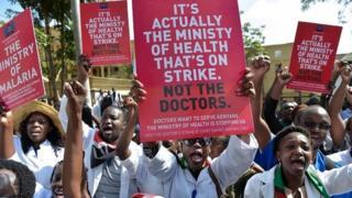 La grève des médecins a déjà fait des centaines de victimes collatérales