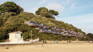 Beach huts plan