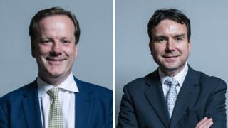 Charlie Elphicke (L) and Andrew Griffiths (R)