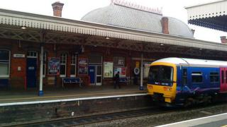 Slough train station