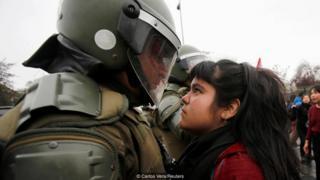 Demonstran perempuan