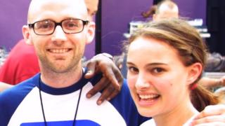 Moby and Natalie Portman in 2001