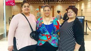 Three women told too big for business class seats