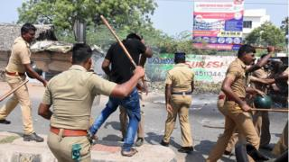 Sterlite copper smelter protesters