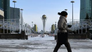 Baiterek Tower in Astana